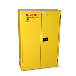 45 Gal. Flammable Storage Cabinet-Yellow