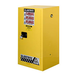 15 Gal. Yellow Flammable Storage Cabinet