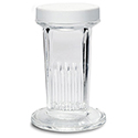 Glass Coplin Jar w/Screw Cap - 5 slide