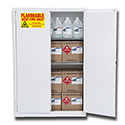 45 Gal. Flammable Storage Cabinet- WHITE