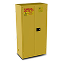 44 Gal. Flammable Storage Cabinet-Yellow