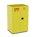 90 Gallon Flammable Cabinet - Yellow